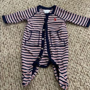 Polo Ralph Lauren baby boys newborn one piece